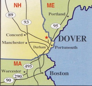 Dover-NH - Map